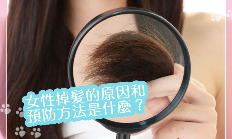 女性為什麼會掉髮?原因和預防方法是什麼?