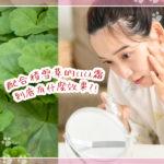 在美容大國韓國人氣爆棚的「cica霜」!改善痘痘和痘疤的效果是真的嗎?