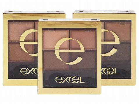 Excel 裸色深邃眼影